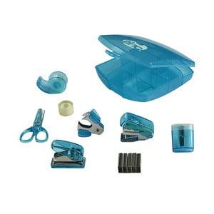Zestaw 8 niebieskich akcesoriów biurowych TINC Tonkin Mini