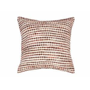 Beżowa poduszka dekoracyjna ZicZac Cornrow, 45x45 cm