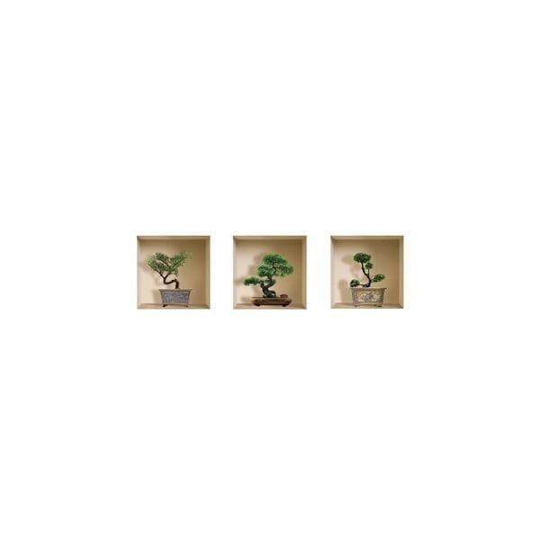 Naklejki na ścianę 3D Banzai