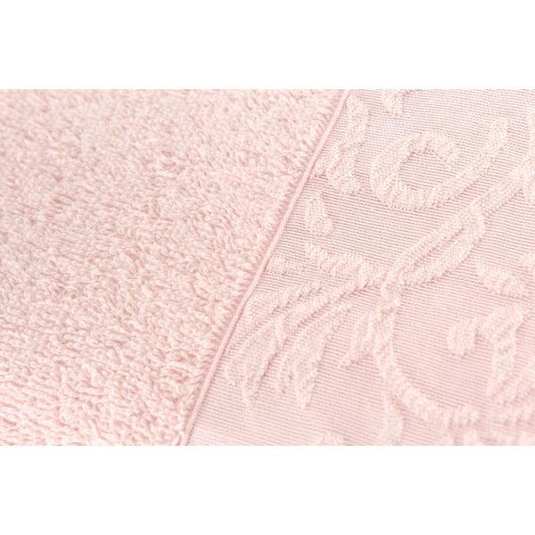 Komplet 2 ręczników Burumcuk Pink, 50x90 cm