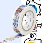 Taśma dekoracyjna washi MT Masking Tape Baby Mikey