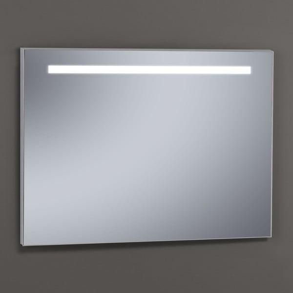 Lustro z oświetleniem LED Miroir, 80x100 cm