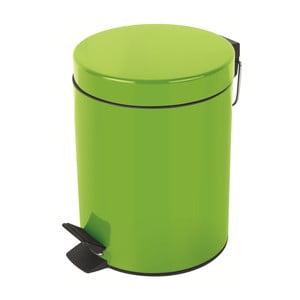 Zielony kosz na śmieci Spirella Sydney, 3 l