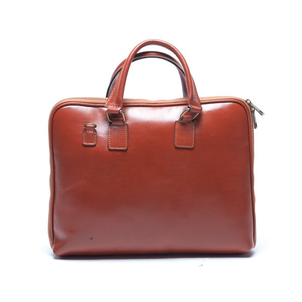 Skórzana torebka Mangotti 375, koniak