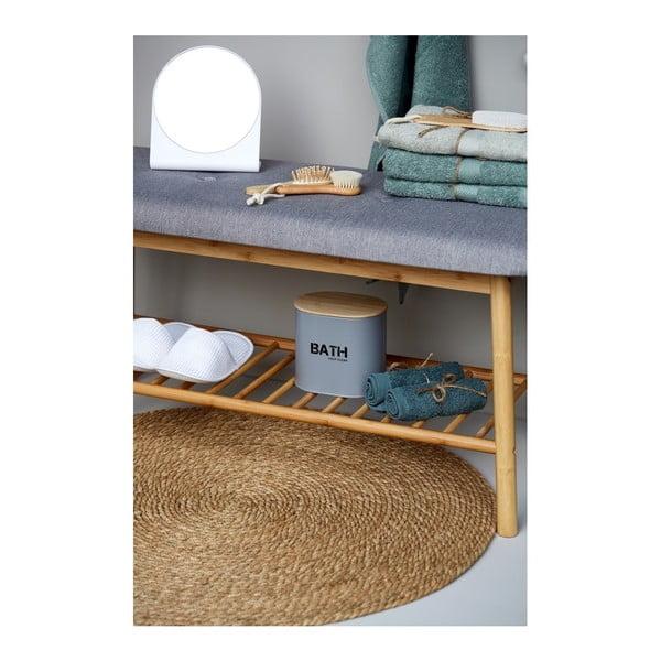Bambusowa ławka łazienkowa Wenko Bahari