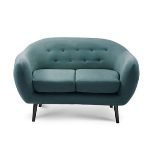 Sofa dwuosobowa Constellation Turquoise/Anthracite/Anthracite