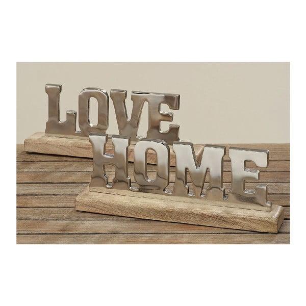 Dekoracja Love Home, 2 sztuki