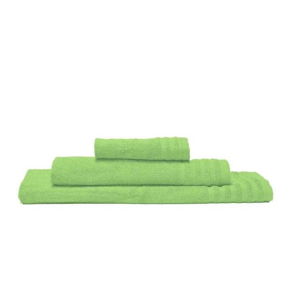 Zestaw 3 ręczników Flamenco Verde