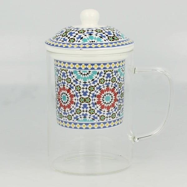 Szklanka z sitkiem Duo Gift Maroko, 450 ml