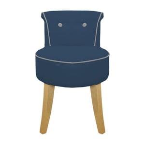 Fotel George Blue/Beech