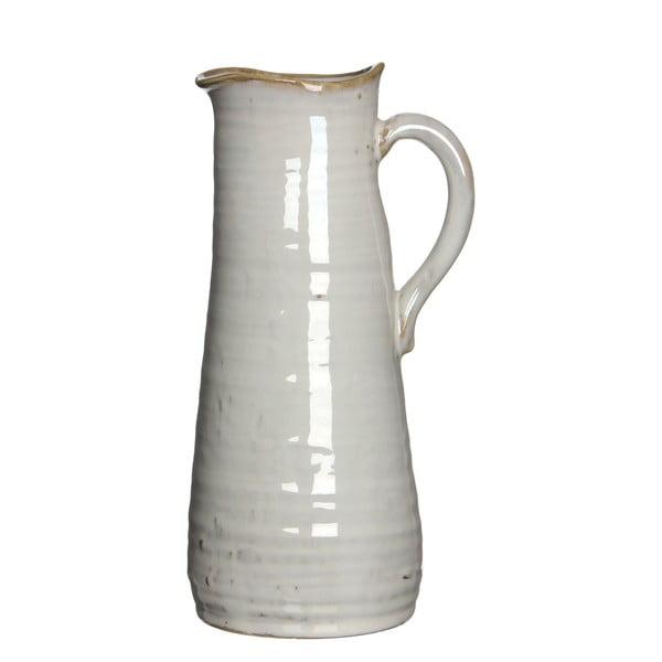 Wazon ceramiczny/dzbanek June Cream, 25 cm