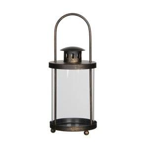 Czarny lampion Mica Lathern, 20x11cm