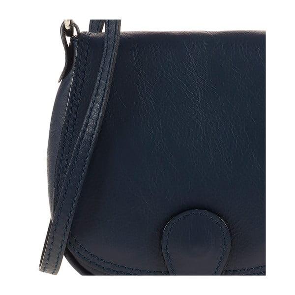 Skórzana torebka Ore Diece Livorno, niebieska