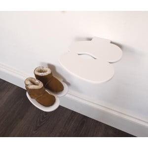 Półka na buty dziecięce  J-ME Footprint, biała