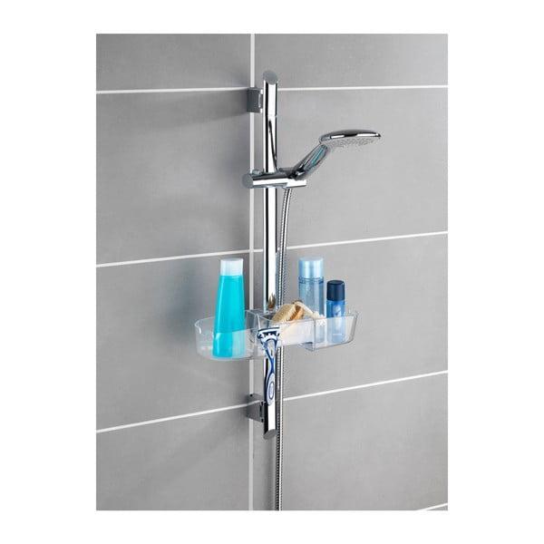 Półka łazienkowa z uchwytem na słuchawkę prysznicową Wenko Premium