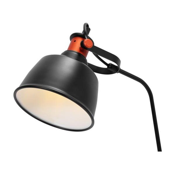 Czarna lampa stołowa Garageeight Etel