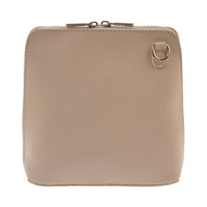 Skórzana torebka Vaire, beżowa