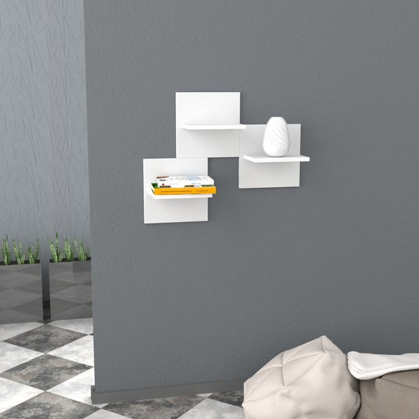 Półka Saka 30x30 cm White