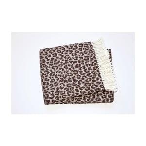 Koc Leopard Coffe, 140x180 cm