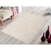 Kremowy wytrzymały dywan Primroz, 80x150 cm