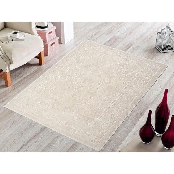 Kremowy wytrzymały dywan Primrose, 100x150 cm