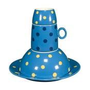 Dziecięcy zestaw naczyń Ramponi Baby Turquoise