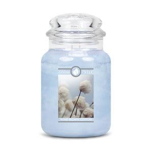 Świeczka zapachowa w szklanym pojemniku Goose Creek Bawełna suszona na wietrze, 150 h