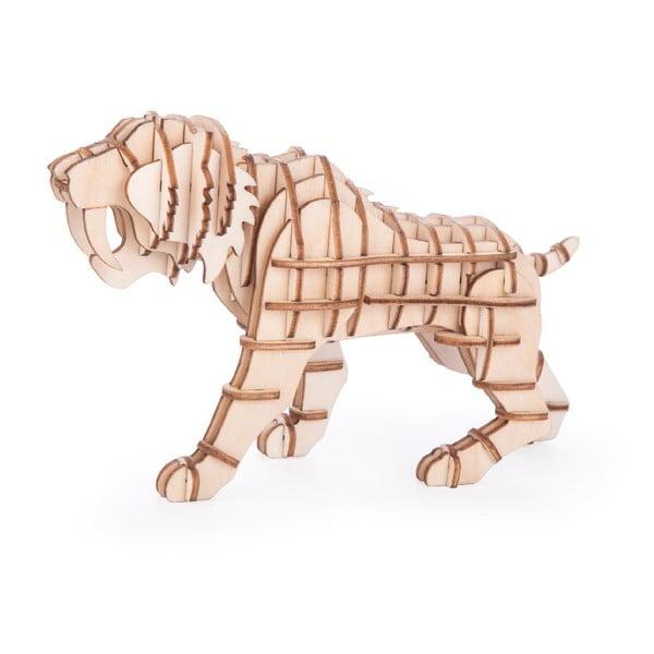Puzzle 3D z balsy Kikkerland Tiger