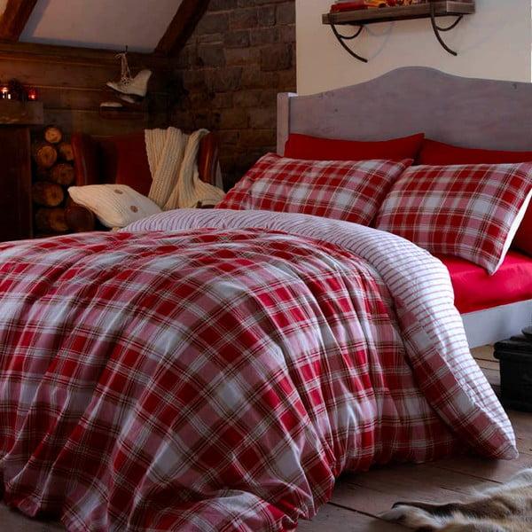 Pościel Tartan Red, 200x200 cm