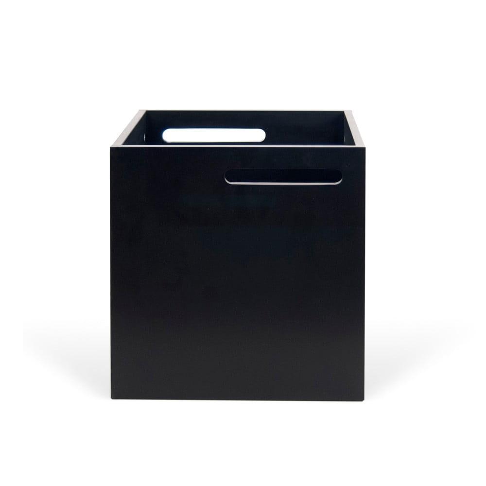 Czarne pudełko na regał TemaHome Berlin