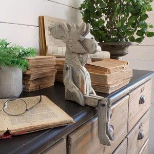 Dekoracja drewniana Orchidea Milano Pupper Reindeer