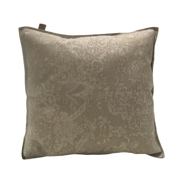 Brązowa poduszka Overseas Vintage Sand, 60x60 cm