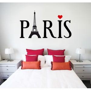 Naklejka na ścianę Paryż, 60x90 cm