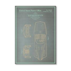 Plakat Automobile I, 30x42 cm