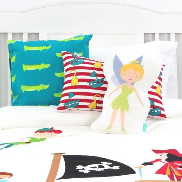 Pościel bawełniana dziecięca z poszewką na poduszkę Mr. Fox Peter, 140x200 cm