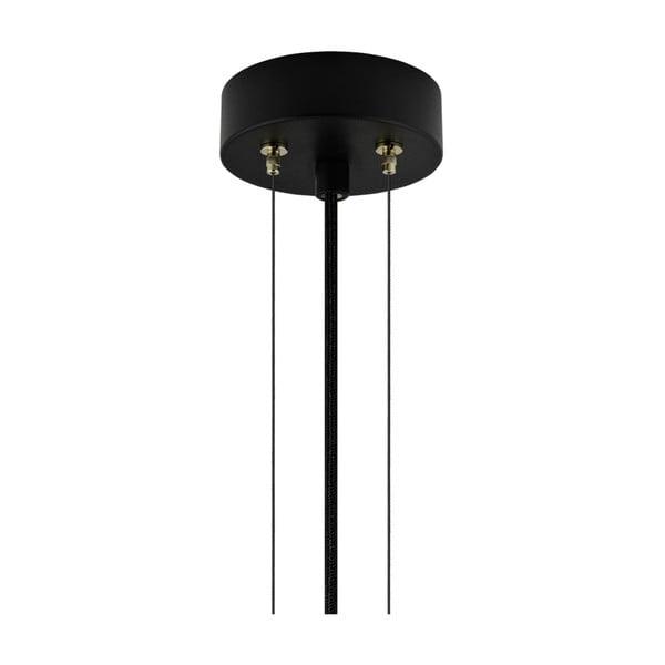 Lampa wisząca w złotym kolorze Bulb Attack Cuatro, średnica 60 cm