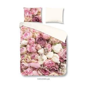 Pościel z mikrowłókna Muller Textiel Pure Roses, 200 x 200 cm