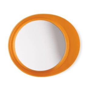 Przyczepne powiększające lustro Eclisse, pomarańczowe