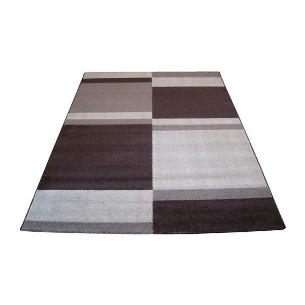 Dywan Flair Rugs Carré Brown, 200x285 cm