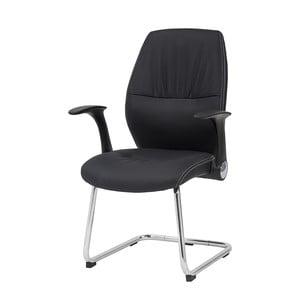 Krzesło biurowe Icaro, czarne
