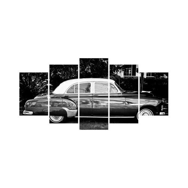 Wieloczęściowy obraz Black&White no. 35, 100x50 cm