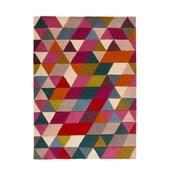 Różowy dywan wełniany Flair Rugs Prism, 160x220 cm