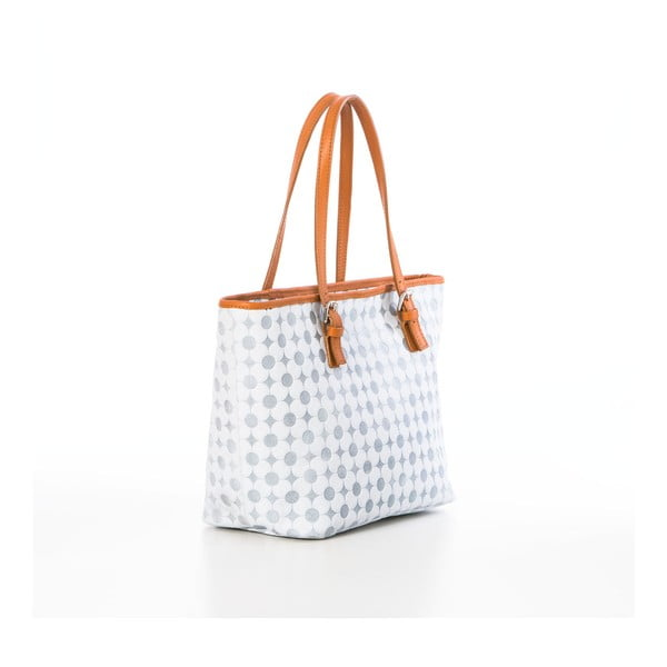 Skórzana torebka Margherita White