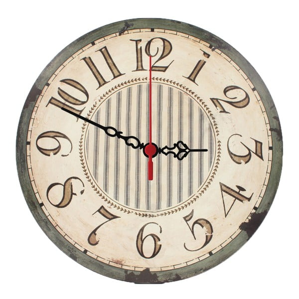 Zegar ścienny Stripes, 30 cm