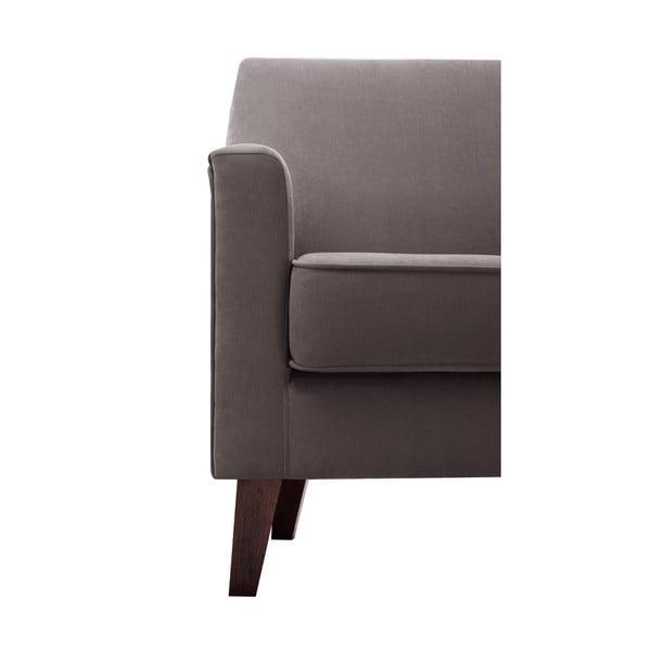 Czekoladowy fotel Jalouse Maison Kylie