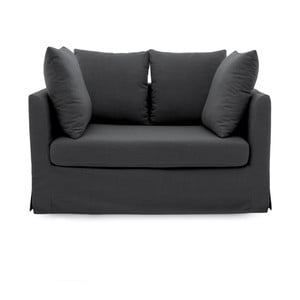 Ciemnoszara sofa dwuosobowa Vivonita Coraly