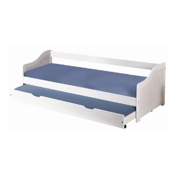 Łóżko Leon White S