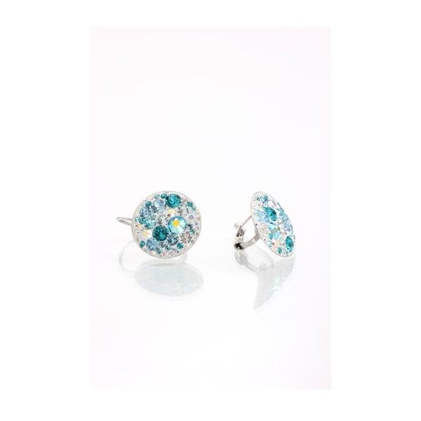 Kolczyki z kryształami Swarovski Elements Laura Bruni Aqua