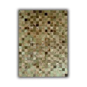 Dywan skórzany Green Multi, 150x210 cm