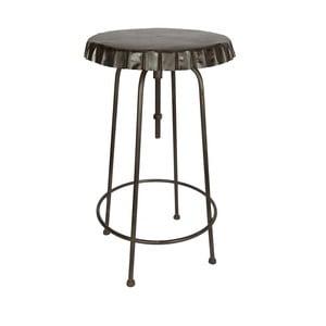 Metalowy stołek Tabouret Plateua